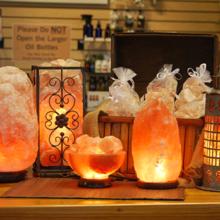 Свойства и принцип работы соляной лампы