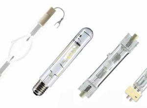 Устройство и разновидности металлогалогенных ламп.