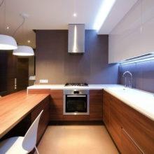 Освещение на кухне: советы и идеи