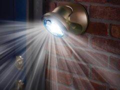 Светодиодные лампы с датчиком движения: популярные производители, область применения, настройка параметров