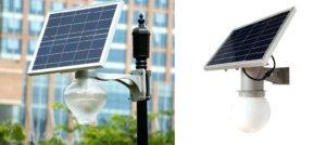 Осветительные приборы на солнечных батареях