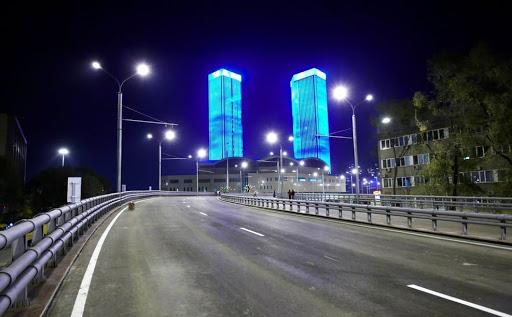 пример магистральных фонарей
