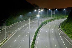 Дорожное уличное освещение