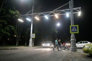 освещение пешеходного перехода