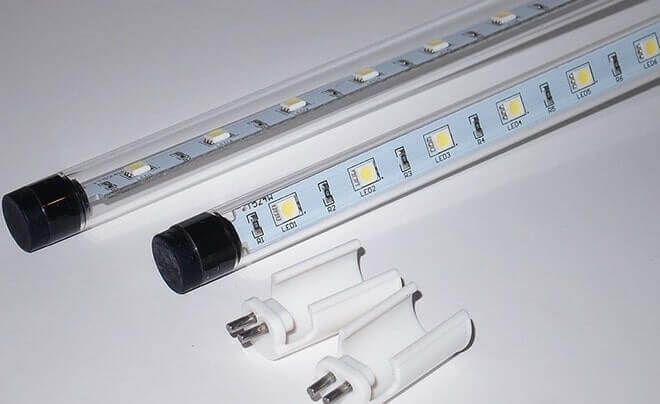 Пример светодиодной лампы Т8