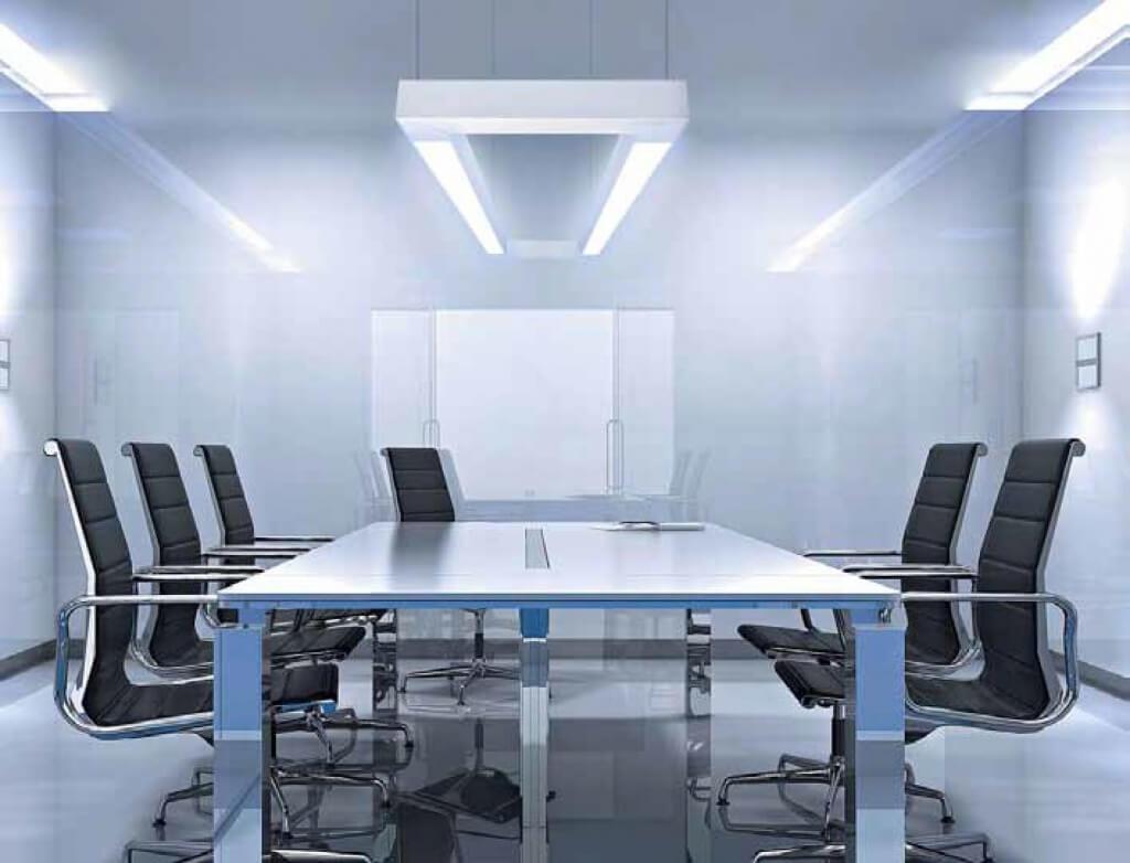 пример офисного освещения